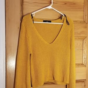 Slouchy Bell Sleeve Sweater Size L